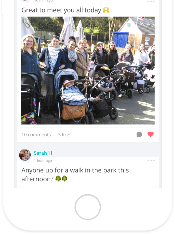 Mush - An app for mums that helps you to find mum friends nearby - screenshot 2