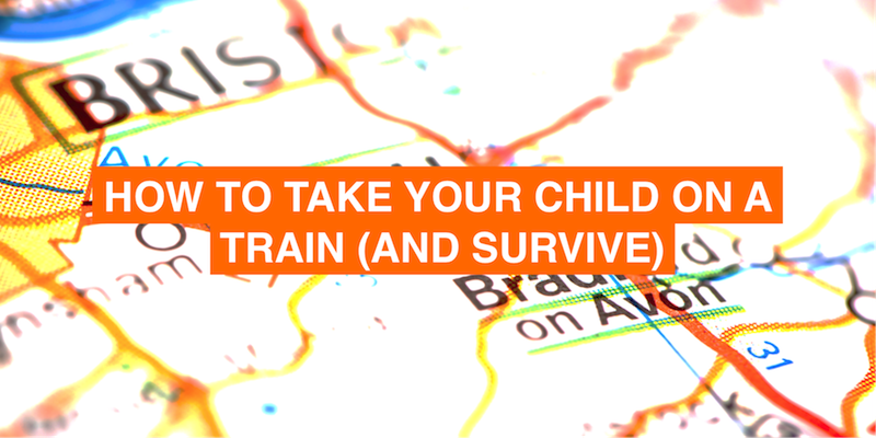 How to take the train alone with a baby/ toddler and survive