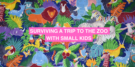 How to survive a trip to the zoo with small kids