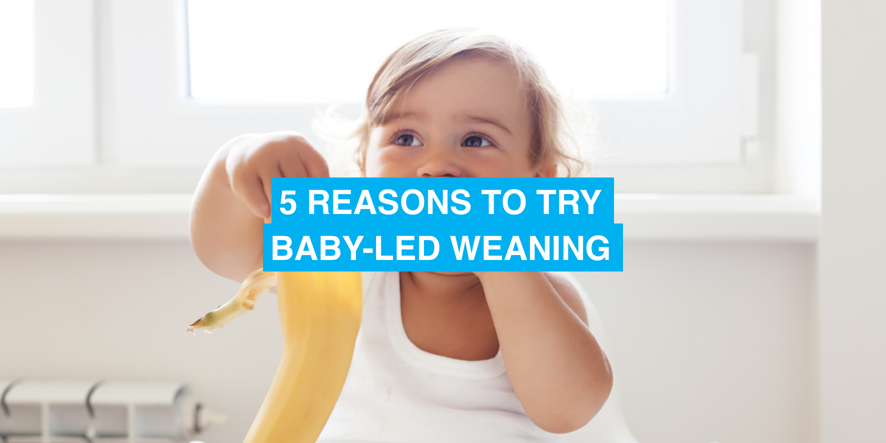 5 reasons to try baby-led weaning