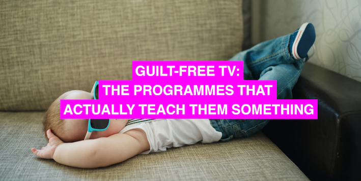 Guilt free TV – the kids programmes that teach them something