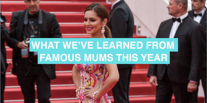 Lessons learned from famous mums of 2016