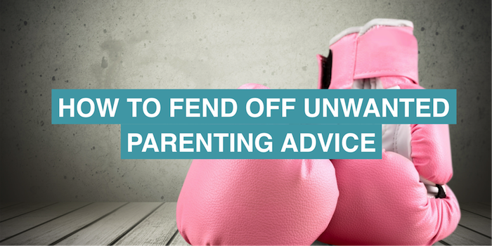 How to fend off unwanted parenting advice without offending anyone (because, ugh, shut up, lady at the bus stop)