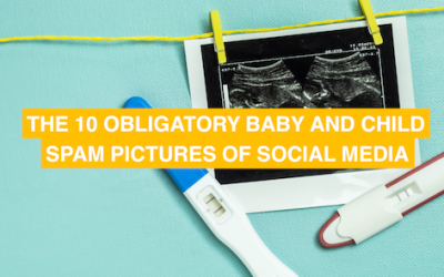 The 10 obligatory kid spam pictures of social media