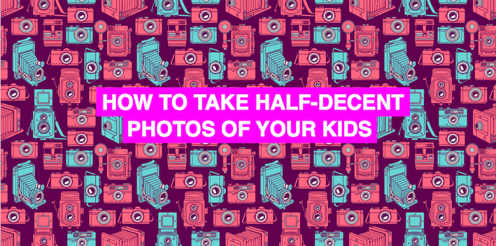 Ask an expert: How to take half-decent photos of your kids