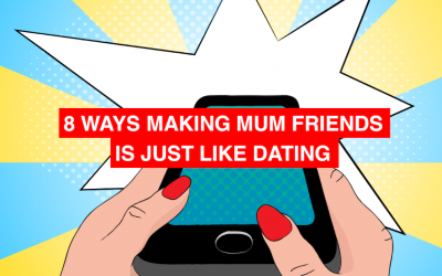 Why making mum friends is like dating