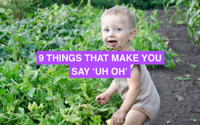 """9 things that make you say """"uh-oh"""""""