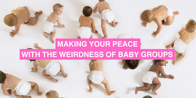 The Weirdness Of Baby Groups