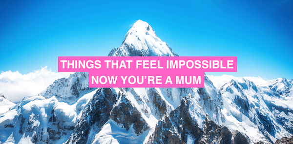 Things that feel impossible