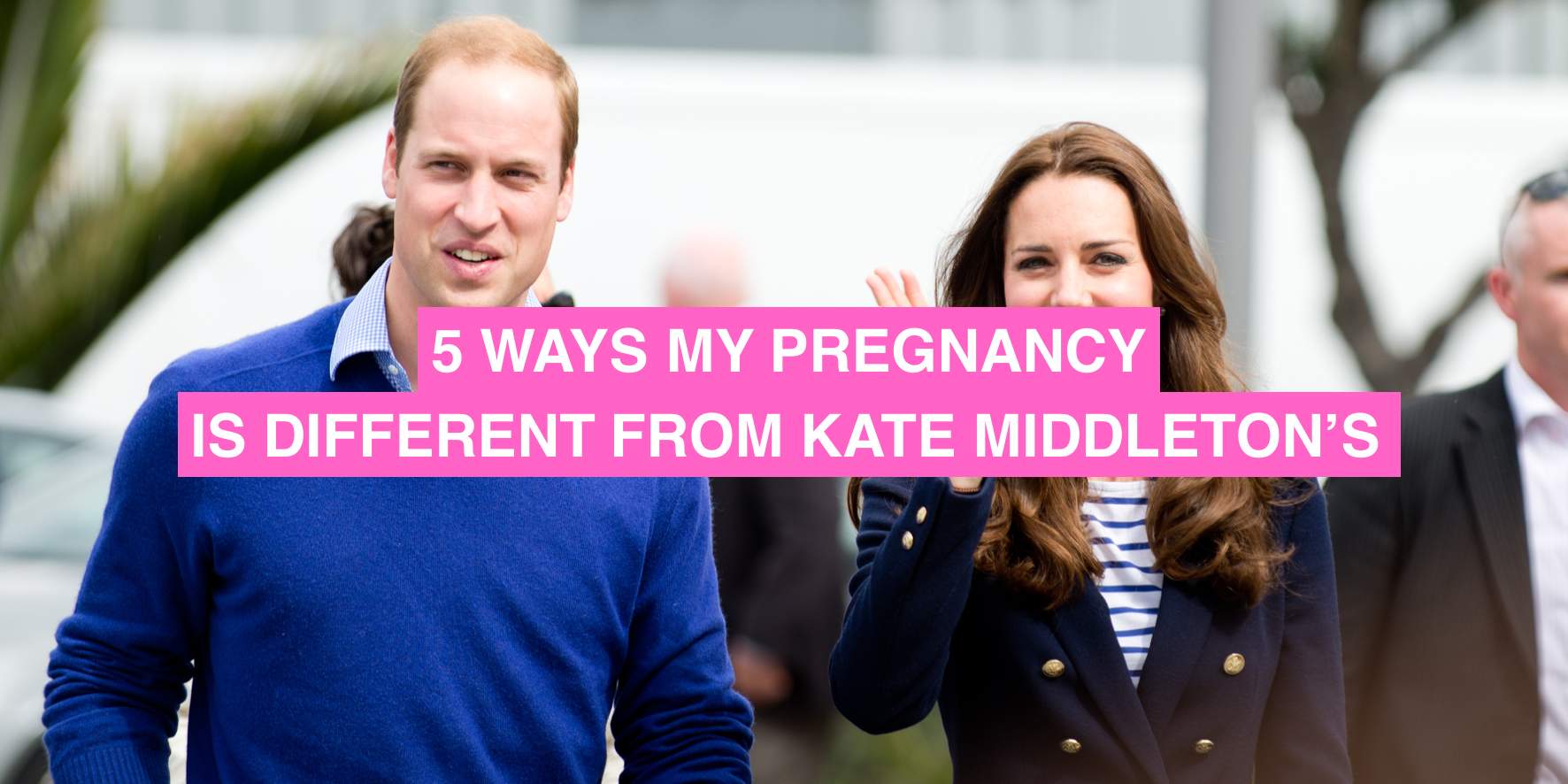 Royal pregnancy vs normal pregnancy