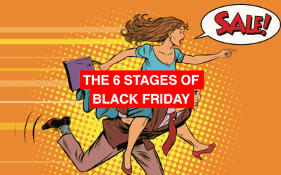 The 6 stages of Black Friday