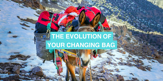The evolution of your changing bag
