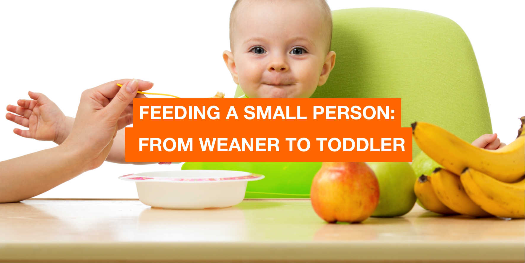 Feeding a small person, from weaner to toddler